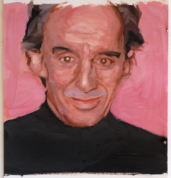 Pat Noser Patrick Frey 2013  30 x 30 cm Oel auf Papier