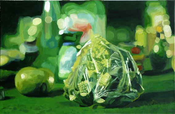 PatNoser Romero SweetieManella Total 2008 65 x 100 cm Oel auf Leinwand