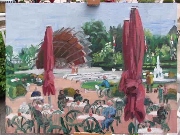 Pat Noser Kurmuschel Heringsdorf vv 2016 30x40 Oel Leinwand HDF 30m.jpg