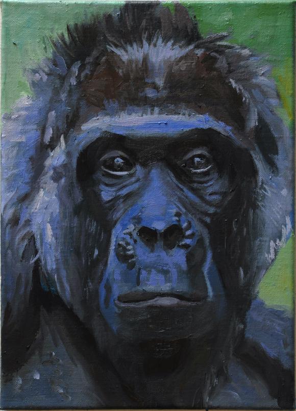 Pat Noser Fatou 2014 35 x 25 cm Oel auf Leinwand