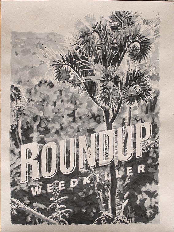 Pat Noser Weedkiller 2018 100 x 75 cm Tusche auf Graukartonm.jpg